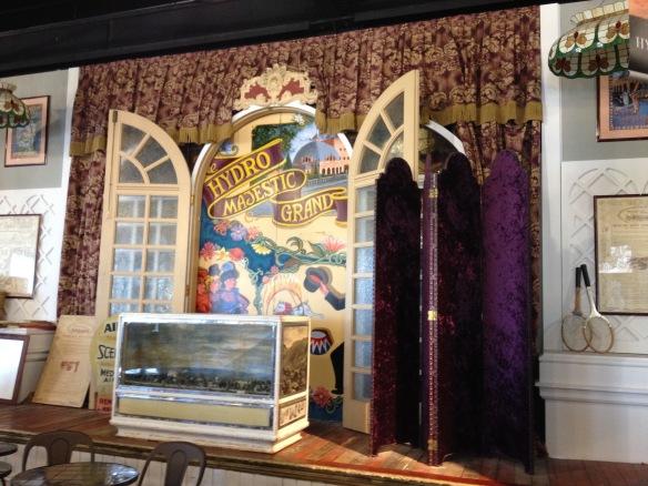 Diorama at Hydro Majestic Pavilion