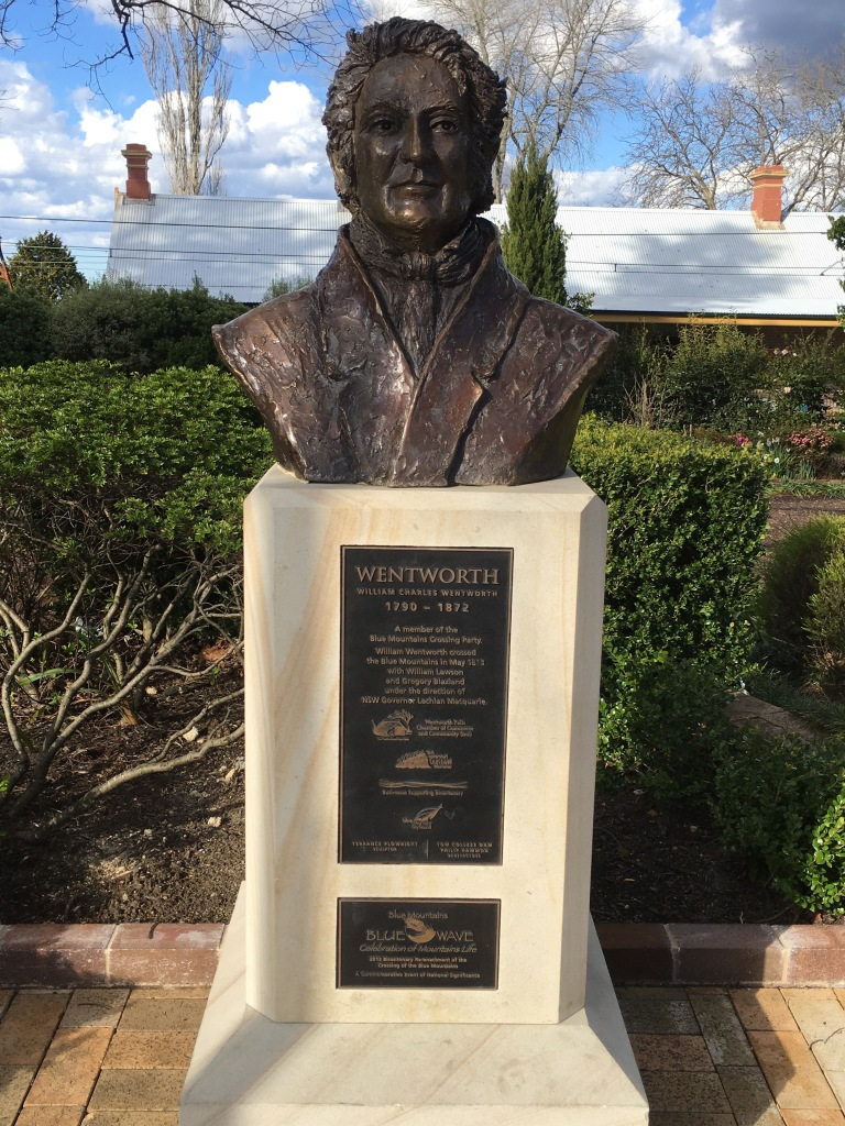Bust of WC Wentworth