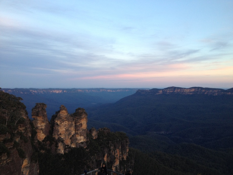 Three Sisters, Echo Point