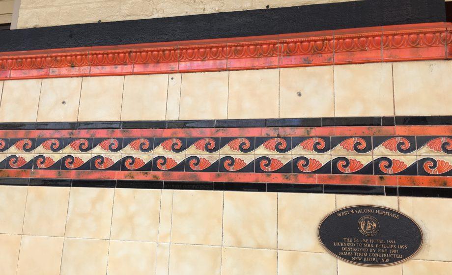 Tiles, Globe Hotel, West Wyalong