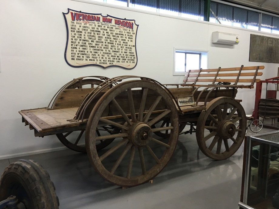 Victorian Bow Wagon, West Wyalong