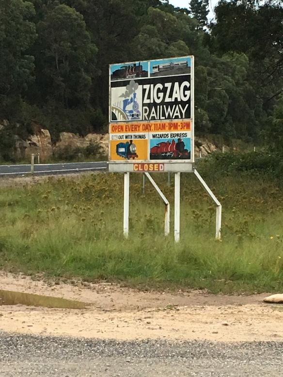 Zig Zag Railway, Clarence