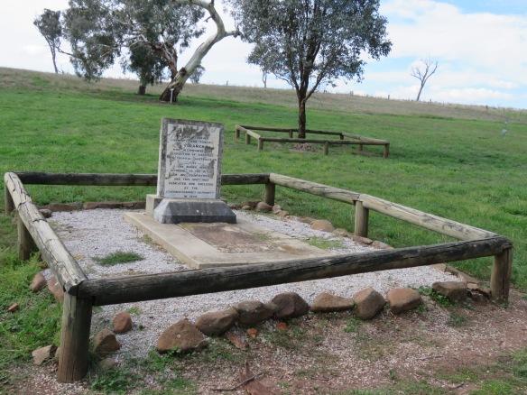 Yuranigh's grave, Molong