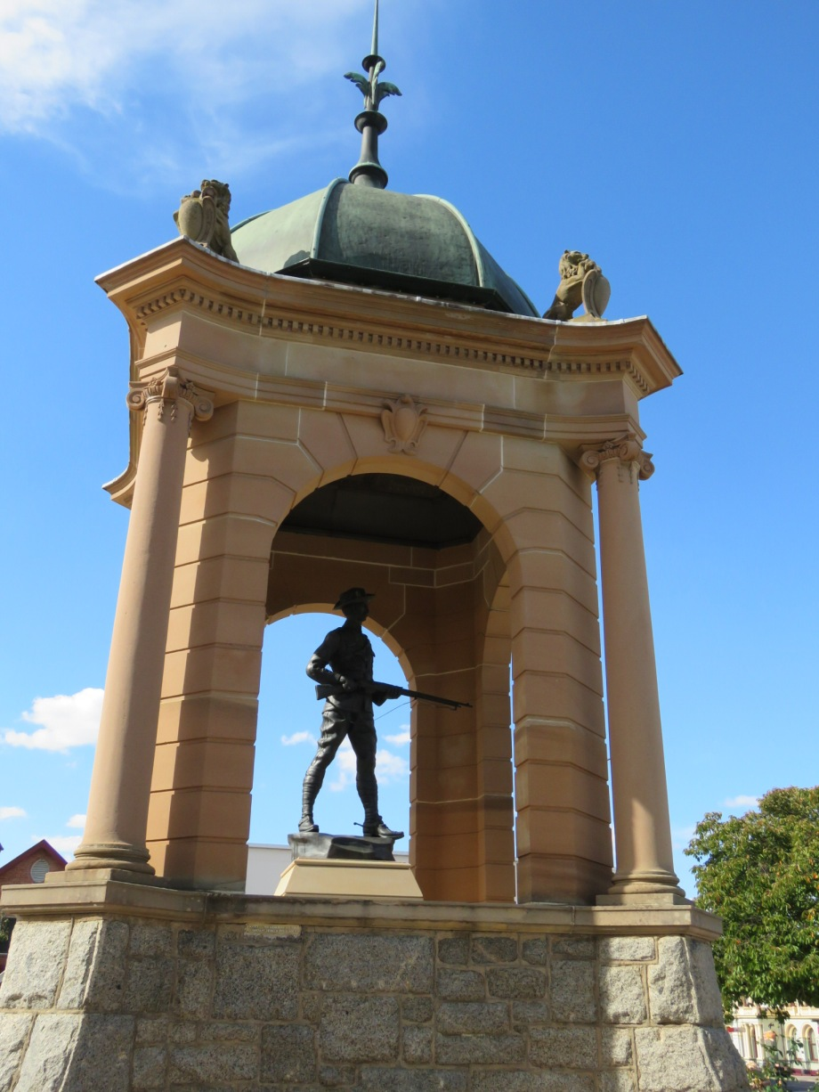Memorial at Bathurst, dedicated by Lord Kitchener in 1910