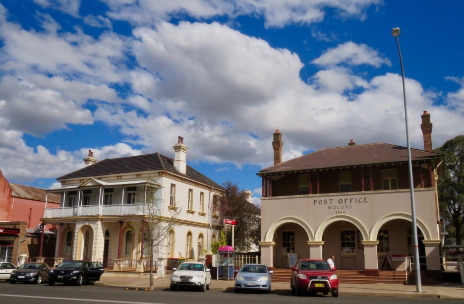 Old Bank and Post Office in Bank Street, Molong