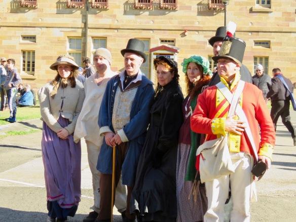 Historic Actors at Commemoration