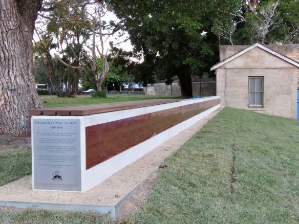 Parramatta Female Factory Memorial