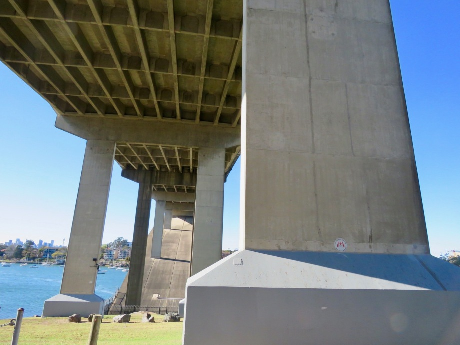 Under the Gladesville Bridge