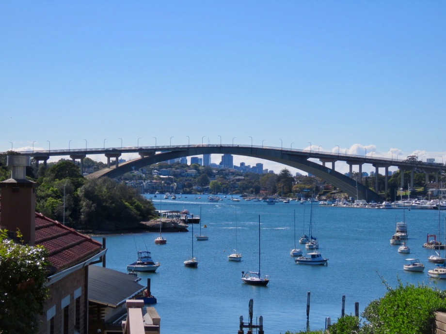 Gladesville Bridge from Putney