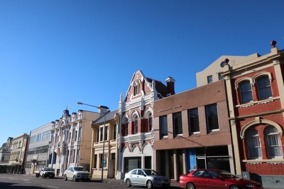 Launceston streetscape, Cameron Street