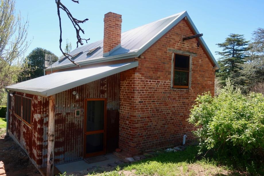 Restored convict barracks at Clifton, Locksley