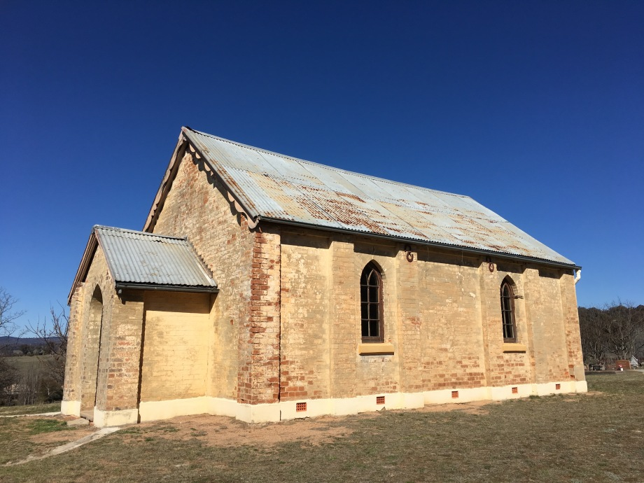 St Peter's Church at Mutton Falls, circa 1871