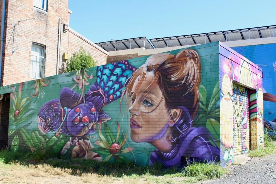 Street Art Walk Katoomba